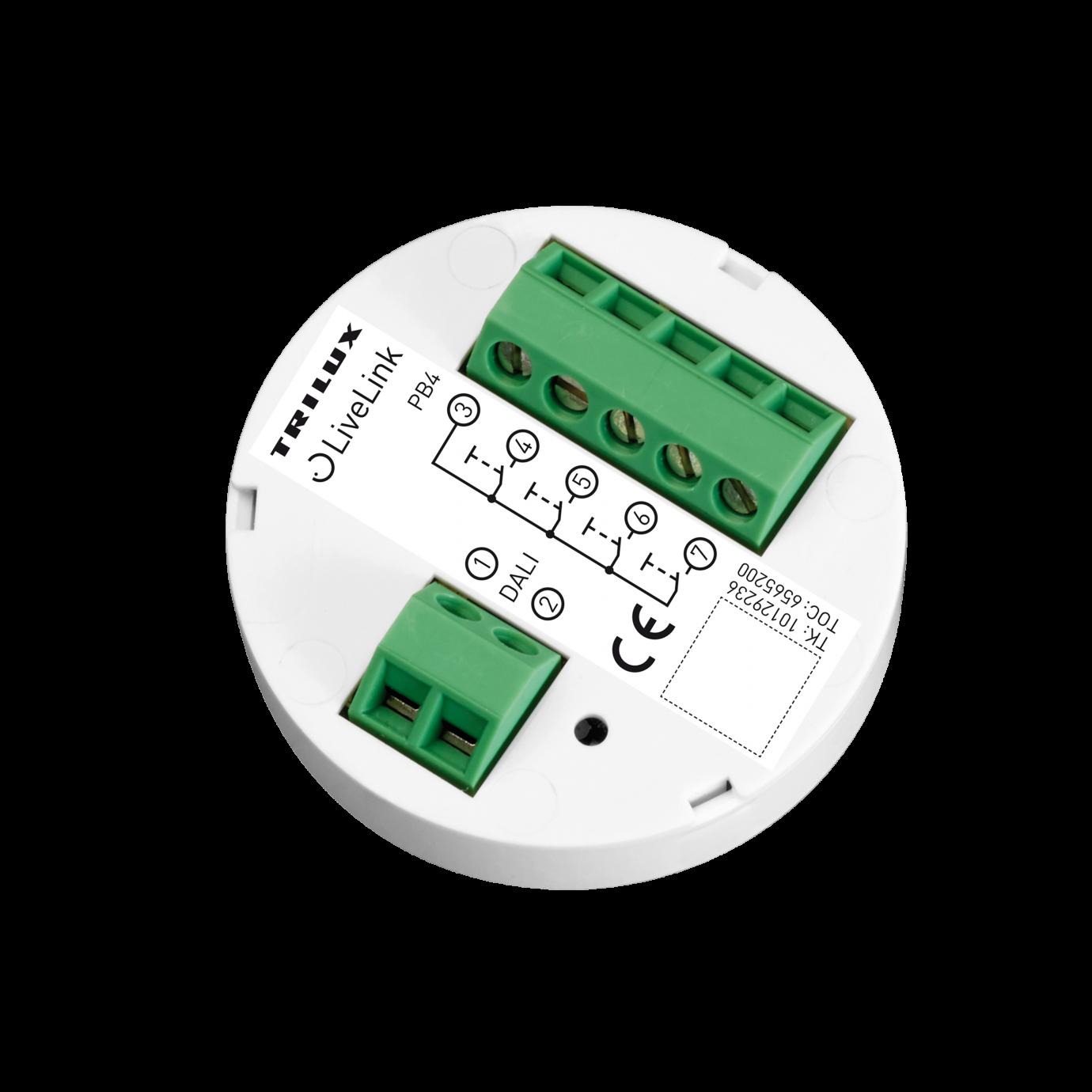 Переключатель (каплер) на 4 линии DALI