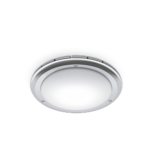 RS PRO LED S1 IP65 opal shade